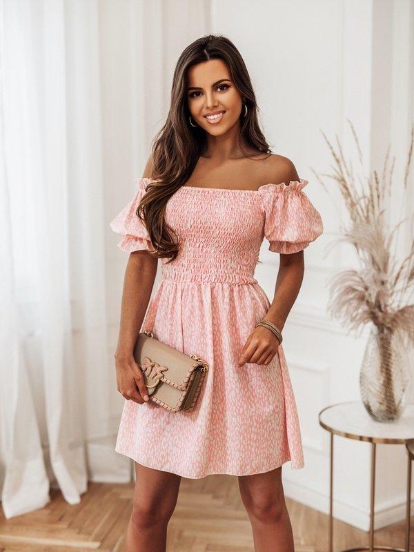 Sukienka Medina Różowa