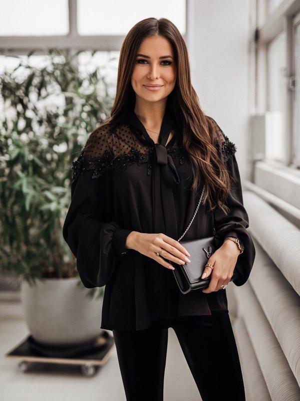 Bluzka Dina Czarna