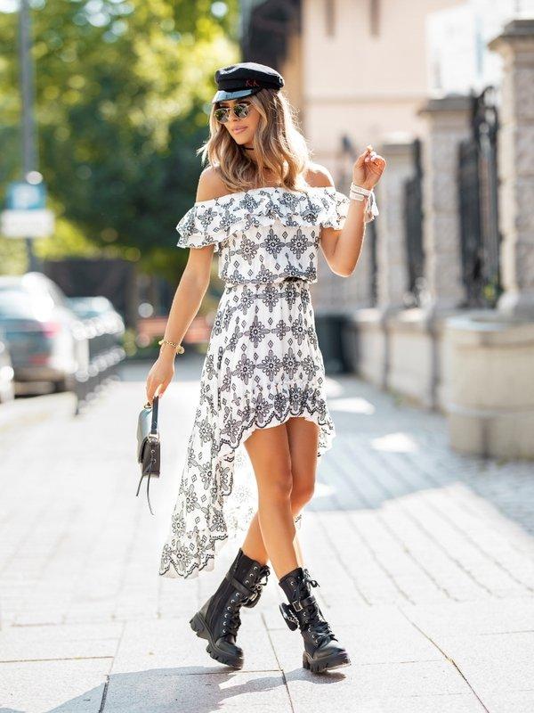 Sukienka Suena Biała