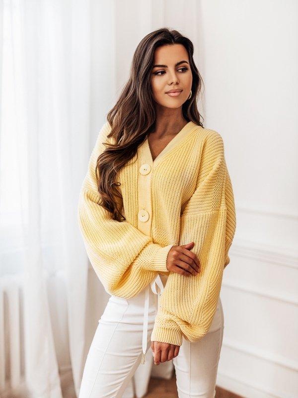 Sweter Vanessa New Żółty