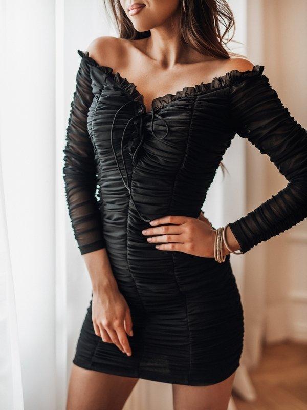 Sukienka Parton Czarna