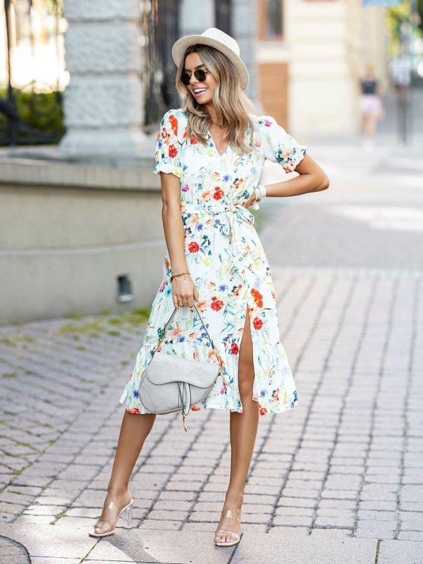 Sukienka Marciano Biała