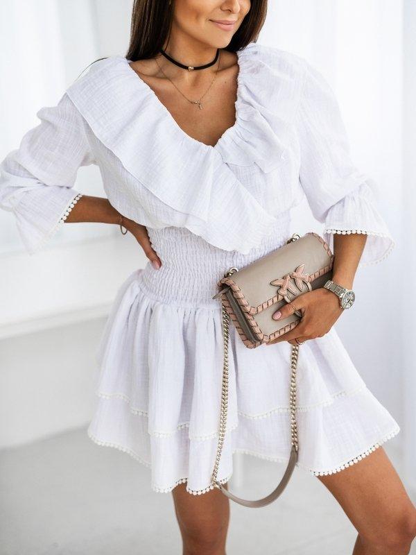 Sukienka Elen Biała