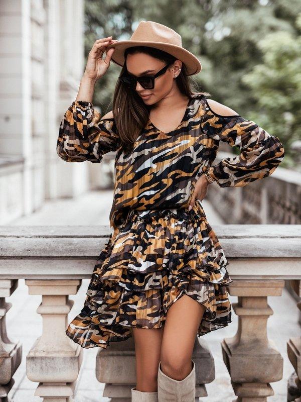 Sukienka Gloria Pomarańczowa