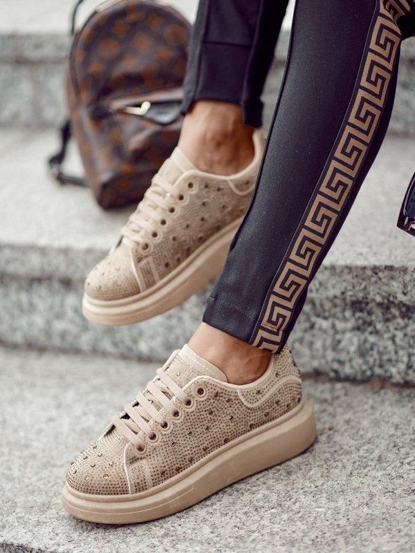 Sneakersy Bruno Beżowe