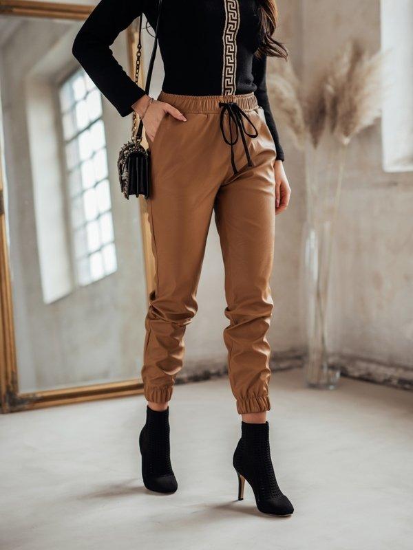 Spodnie Swift Karmelowe