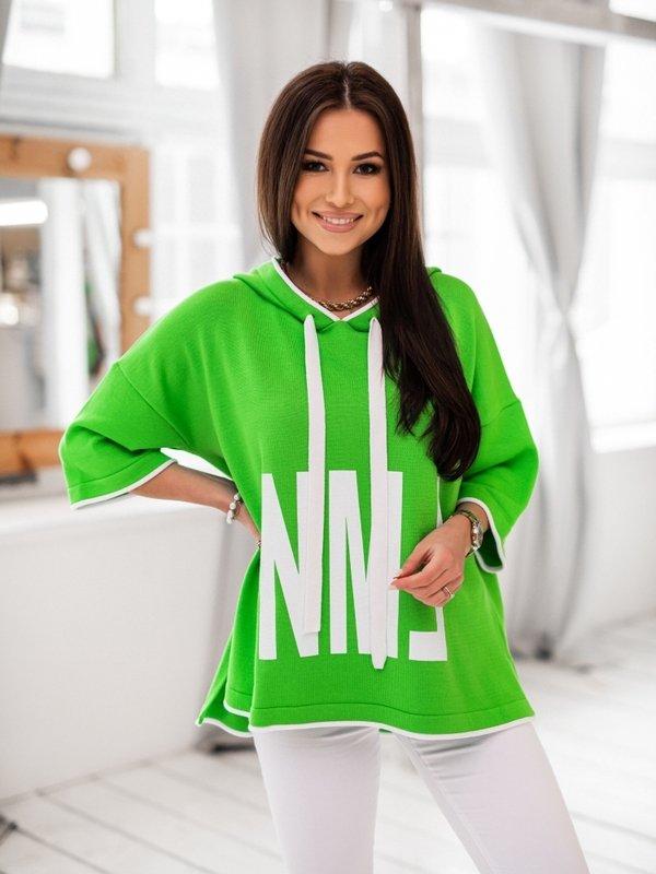 Sweter NML Zielony