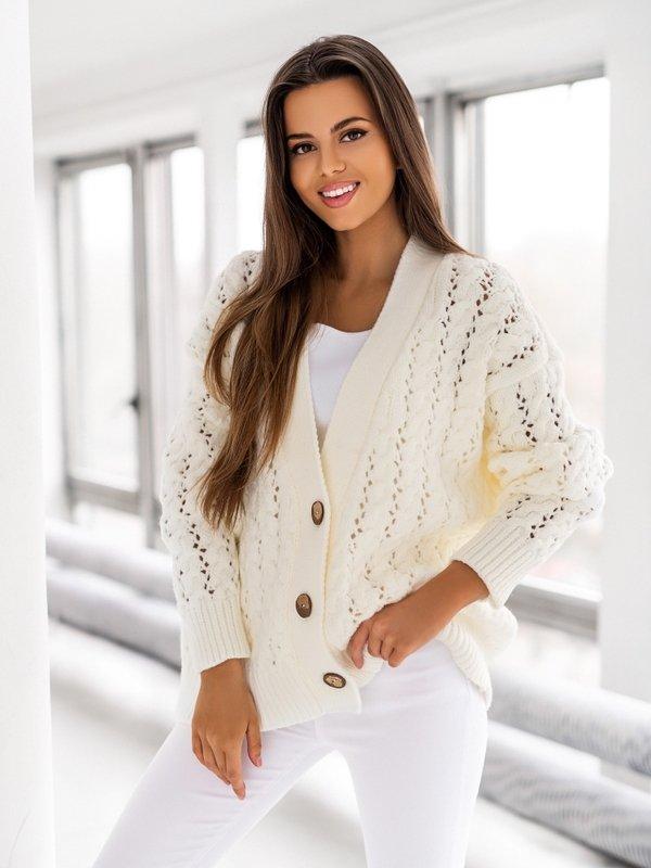 Sweter Charlotte Kremowy