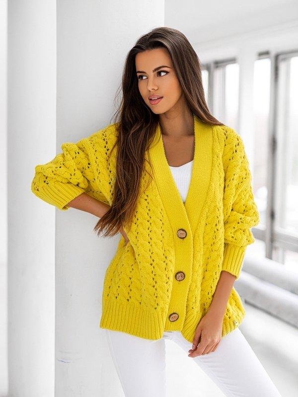 Sweter Charlotte Żółty