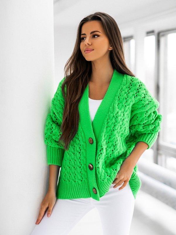 Sweter Charlotte Zielony