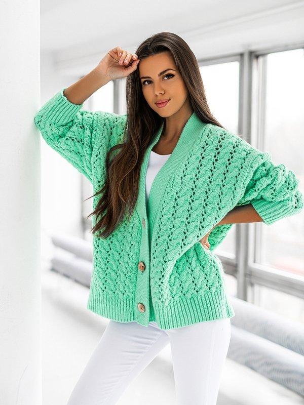 Sweter Charlotte Miętowy