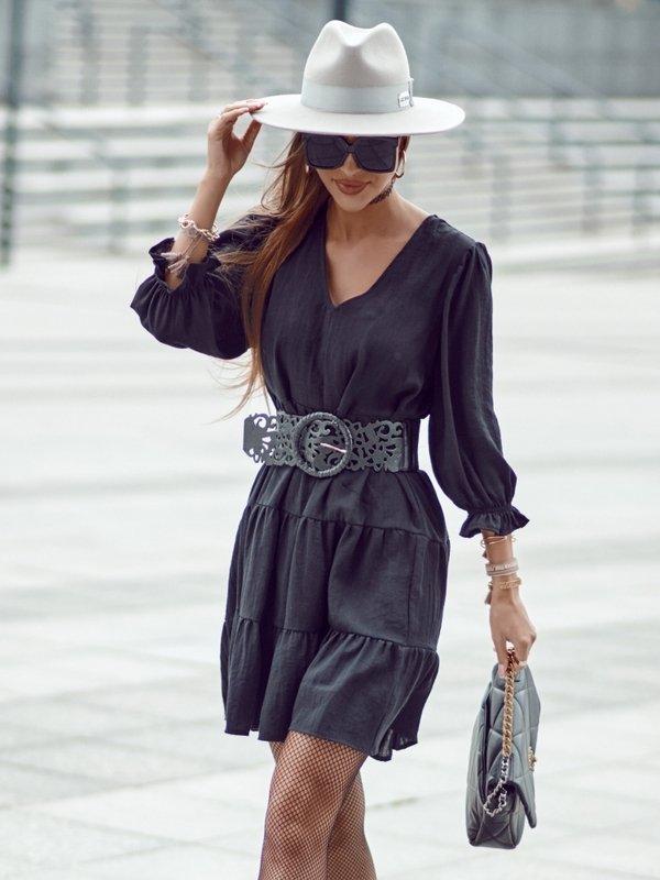 Sukienka Aura Czarna