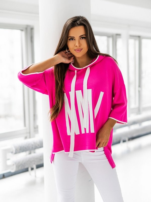 Sweter NML Amarantowy