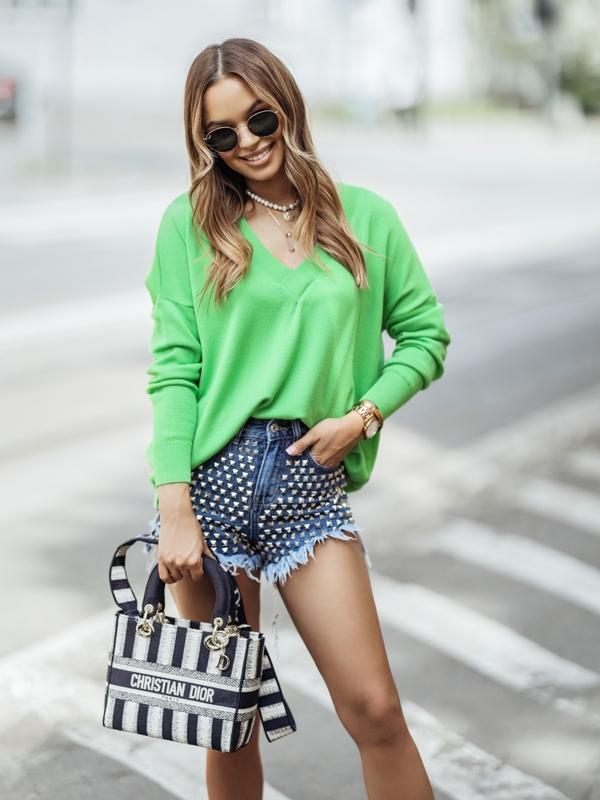 Sweter Classico Zielony