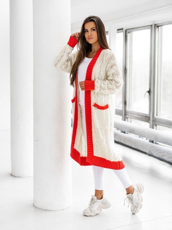 Sweter Carlina Czerwony