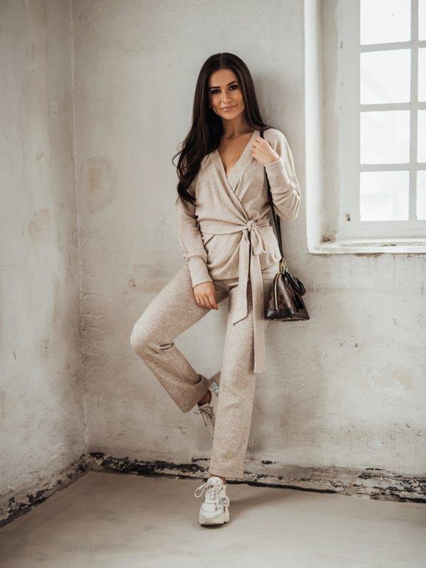 Spodnie Paja Beżowe