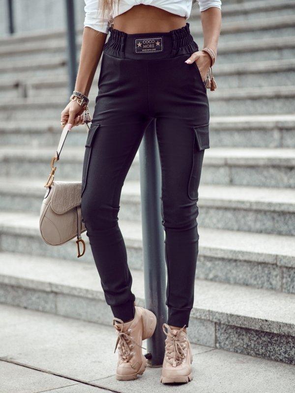Spodnie Leah Czarne