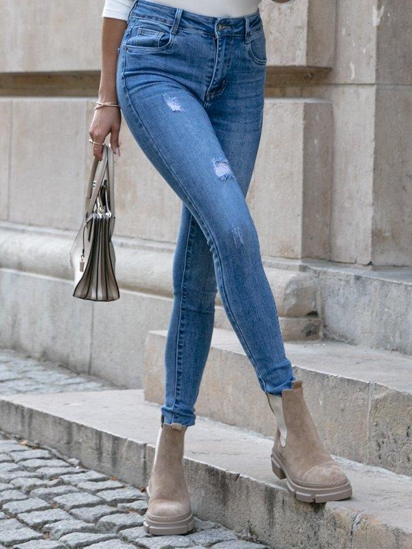 Spodnie Palmira Jeans Niebieskie