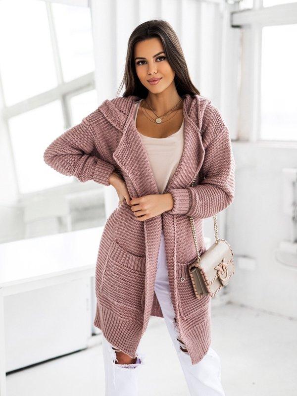 Sweter Valeria Różowy