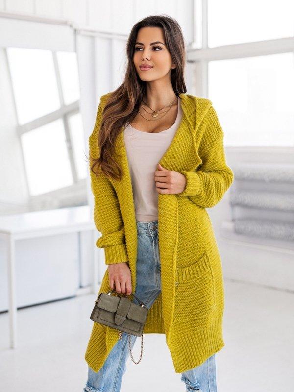 Sweter Valeria Musztardowy