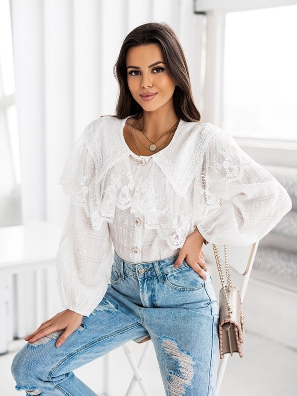 Koszula Capri Kremowa