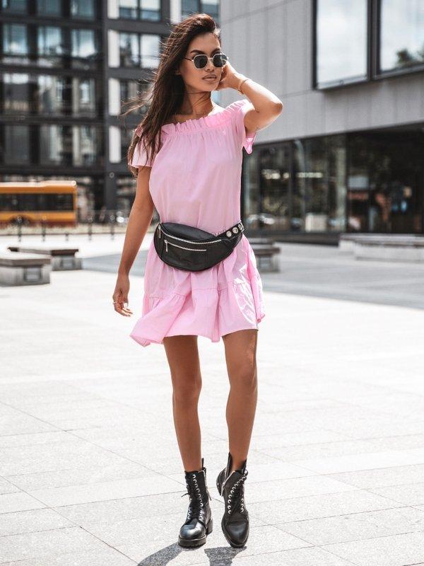 Sukienka More Neonowy Róż