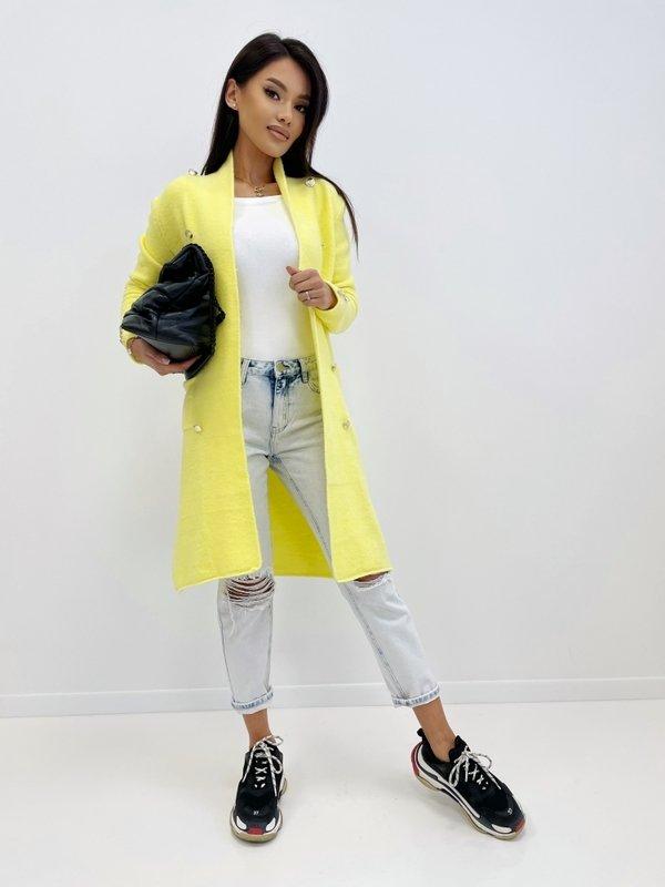 Sweter Jasmin Żółty