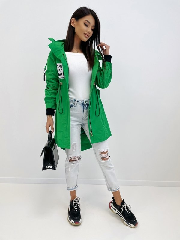 Kurtka New Chic Zielona