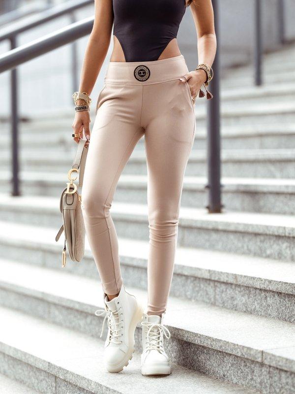 Spodnie Savilone Pudrowe