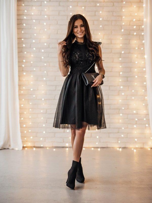 Sukienka Belero Czarna