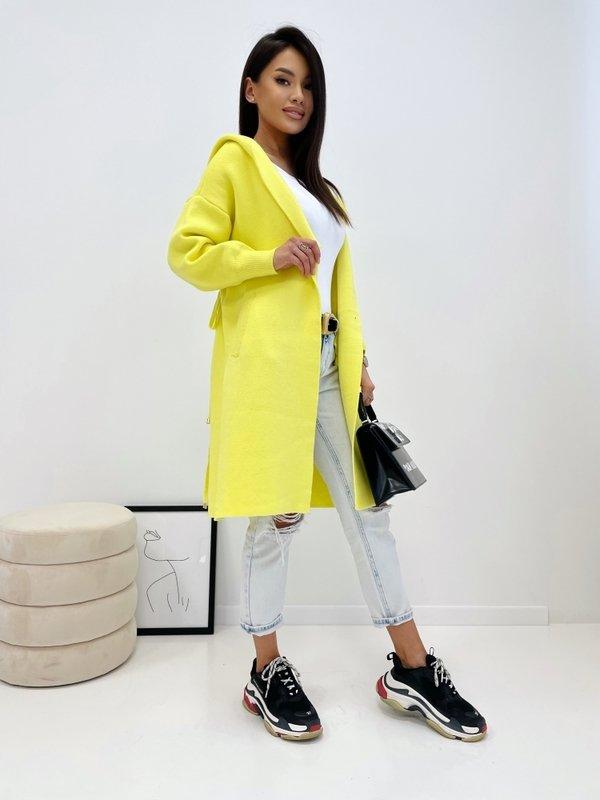 Sweter Darla Żółty