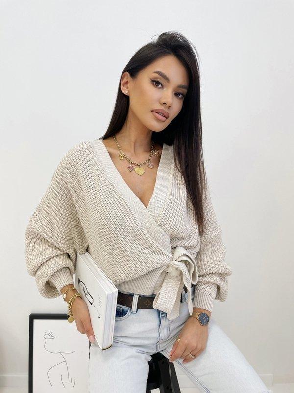 Sweter Rita Beżowy