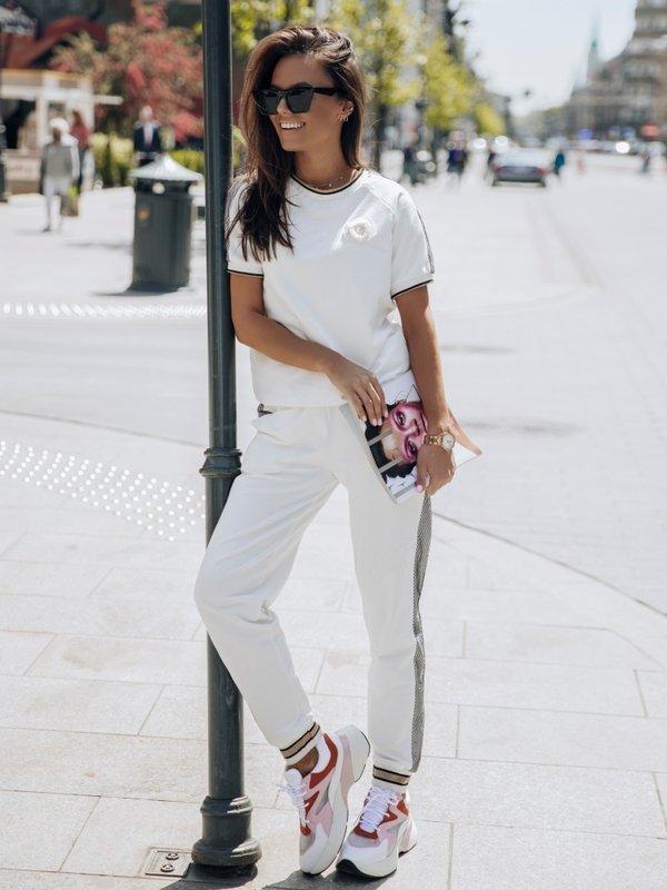 Spodnie Madona Białe