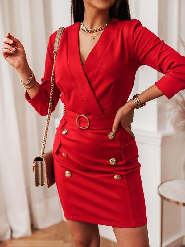 Sukienka Bellano Czerwona