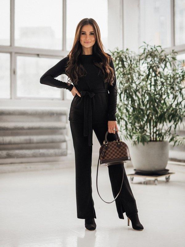 Spodnie Electra Czarne