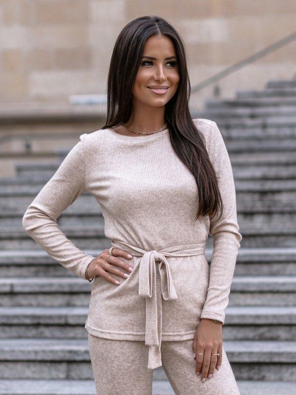 Bluzka Marina Beżowa