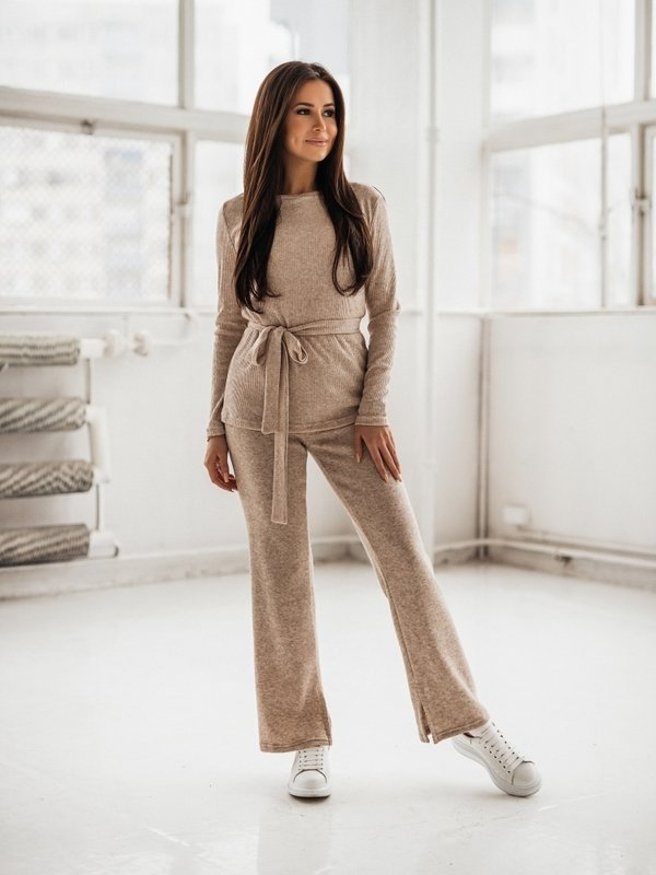 Spodnie Electra Beżowe