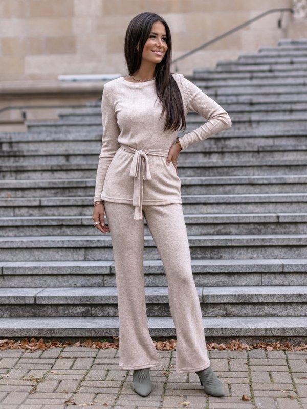 Spodnie Marina Beżowe