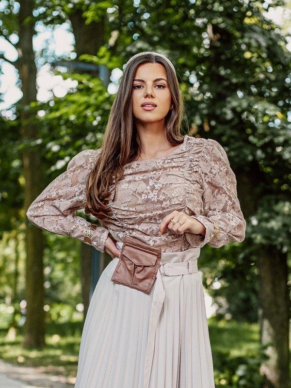 Bluzka Lucia Beżowa