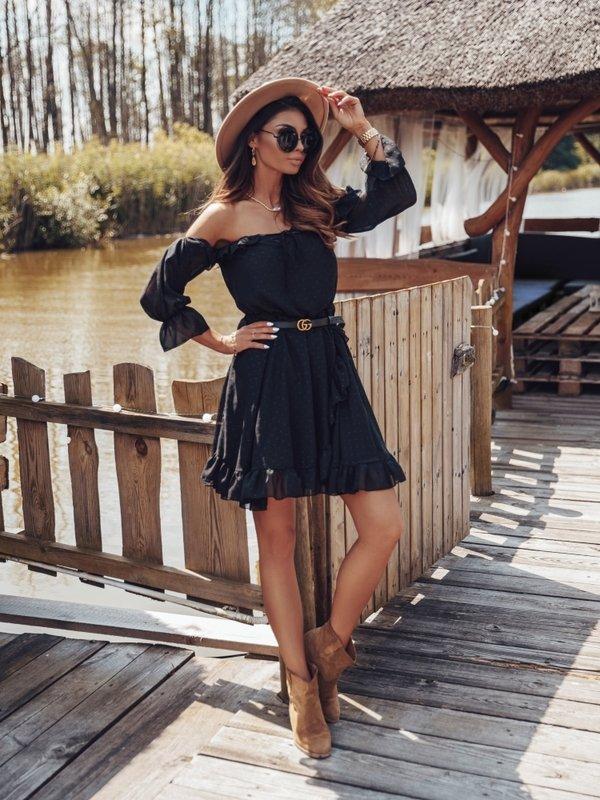 Sukienka Romantic Czarna
