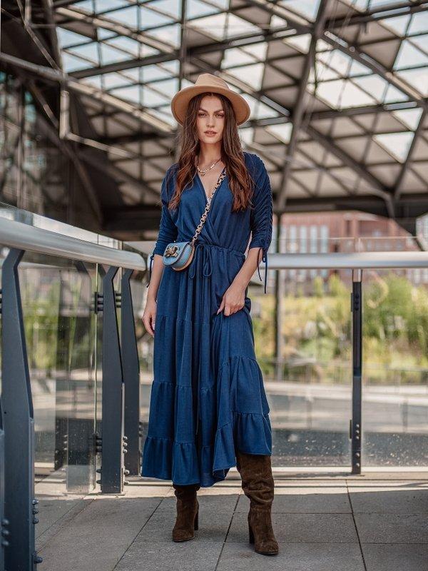 Sukienka Sheilin Granatowa