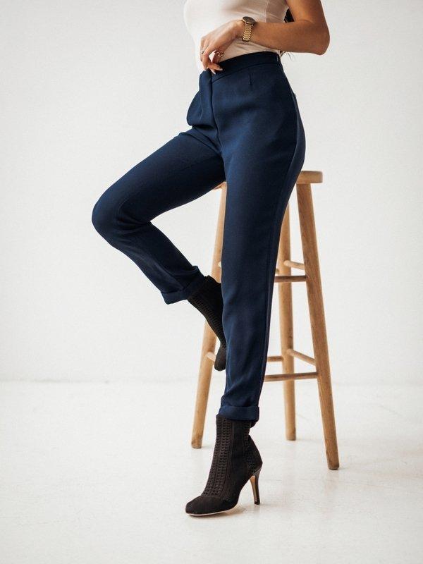Spodnie Classo Granatowe
