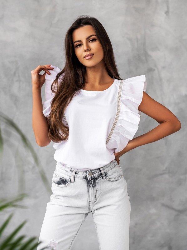 T-shirt Cherry Biały