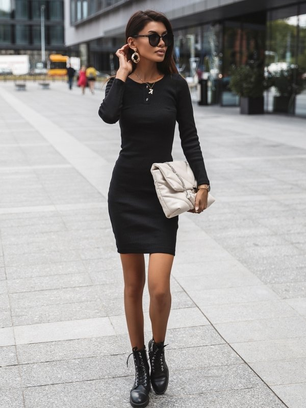 Sukienka Malesia Czarna