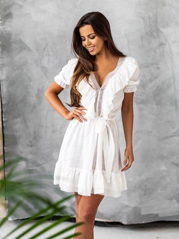 Sukienka Lucinda Biała