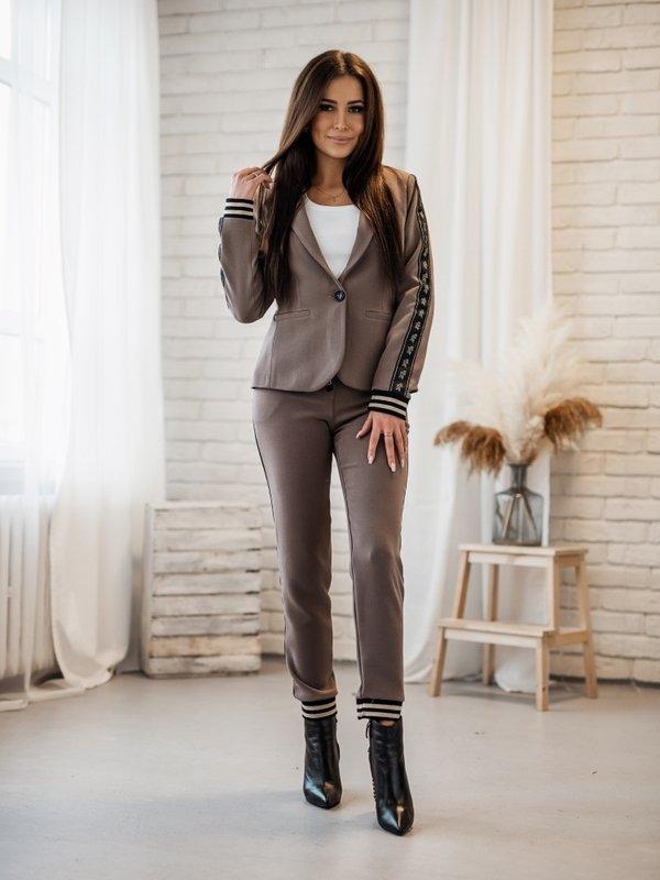 Spodnie Iveta Brązowe