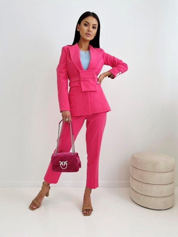 Spodnie Leticia Amarantowe