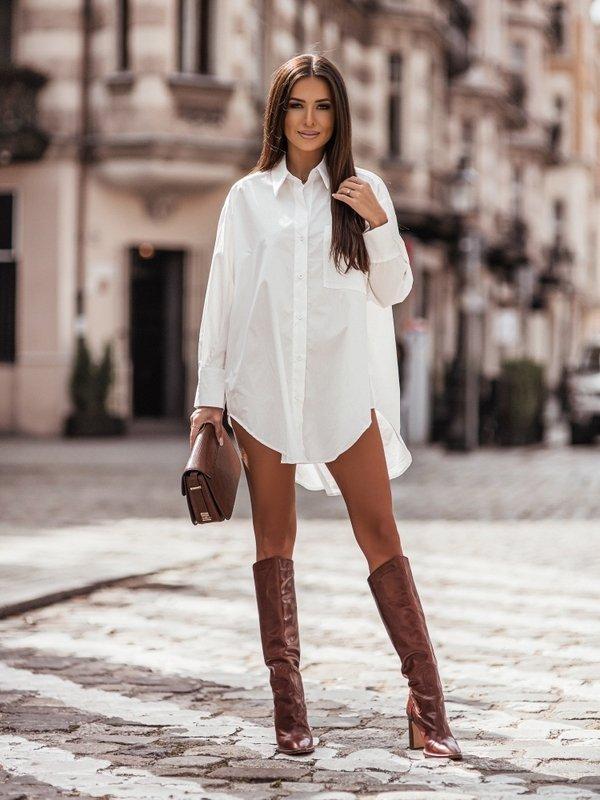 Sukienka Stone Biała