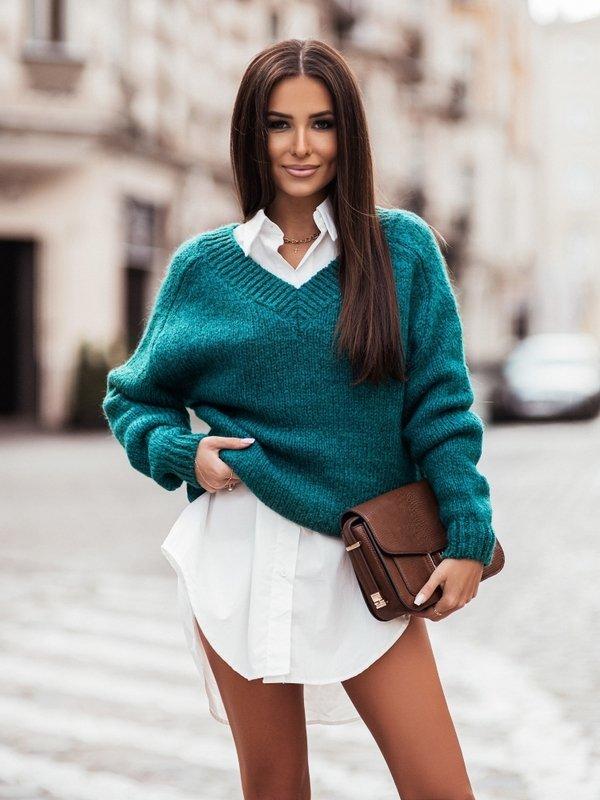Sweter Ashley Butelkowy