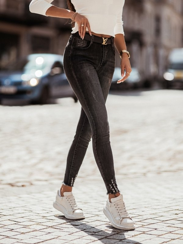 Spodnie Elicia Jeans Szare